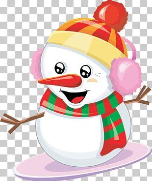 Lovely Snowman Desktop Christmas PNG