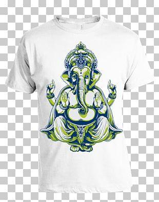 Ganesha Sleeve Tattoo Flash Body Art PNG