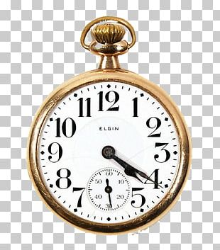 Elgin National Watch Company Pocket Watch Bonnie And Clyde PNG