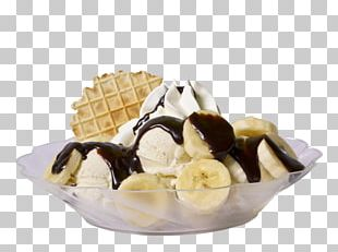 Sundae Gelato Chocolate Ice Cream Dame Blanche PNG