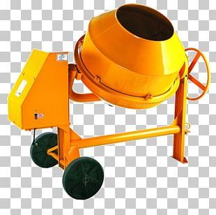 Cement Mixers Equipamento Vibrador Concrete Architectural Engineering PNG