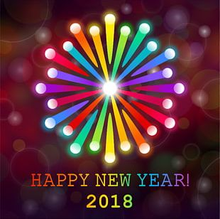 New Year's Day Wish New Year Card New Year's Resolution PNG