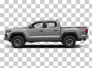 2018 Toyota Tacoma TRD Off Road Car Pickup Truck Four-wheel Drive PNG
