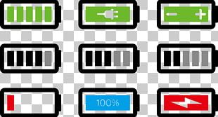 Battery Charger Rechargeable Battery Icon PNG