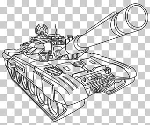 Coloring Book Tank Army Military Soldier PNG