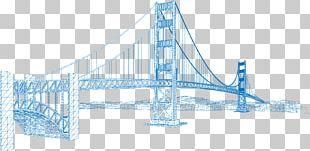 Golden Gate Bridge Eiffel Tower Building PNG