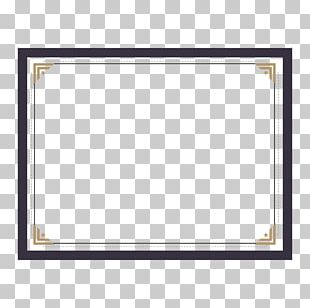 Text Frame Pattern PNG