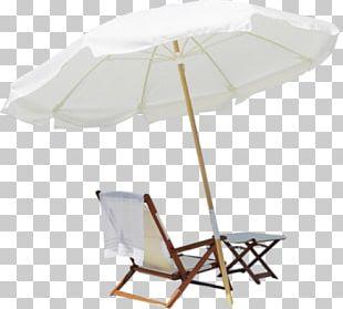 Beach Furniture Umbrella Chair PNG
