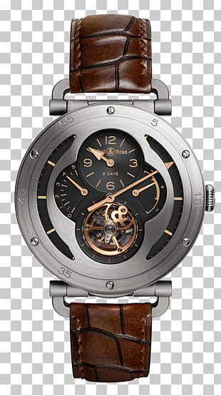 Bell & Ross Tourbillon Counterfeit Watch Clock PNG