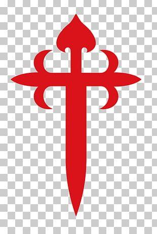 Santiago De Compostela Camino De Santiago Cross Of Saint James Order Of Santiago PNG