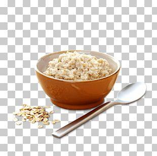 Breakfast Cereal Porridge Bagel Milk PNG
