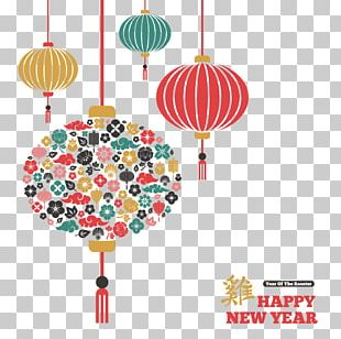 Chinese New Year Light Illustration PNG