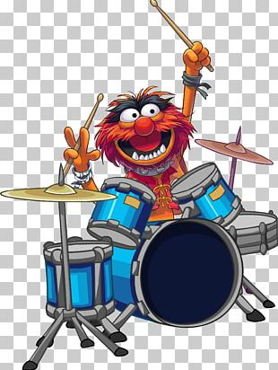 Animal Drummer The Muppets Percussion PNG