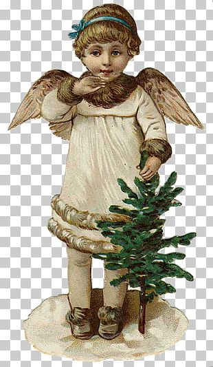 Angel Christmas Ornament Victorian Era Greeting & Note Cards PNG