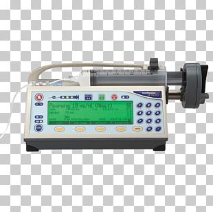 Infusion Pump Syringe Driver Intravenous Therapy Patient PNG