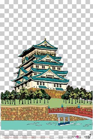 Himeji Castle Osaka Castle Nagoya Castle Kumamoto Castle PNG