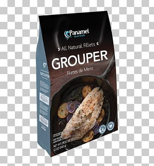 Seafood Grouper Fish Fillet PNG