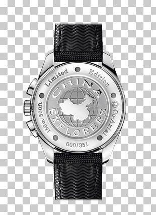 Omega Speedmaster Snoopy Apollo 13 Silver Watch PNG