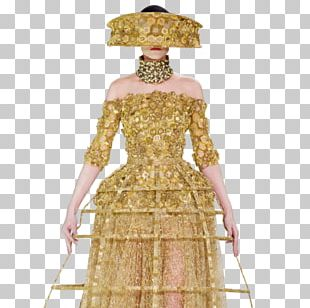 Dress Costume Design Gown Pattern PNG