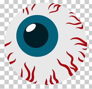 Red Eye Drawing PNG