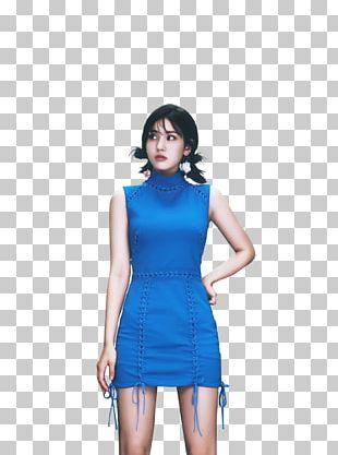 Electric Blue Cobalt Blue Turquoise Dress PNG