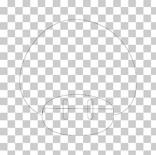 White Circle Headgear Angle PNG