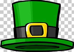 Saint Patrick's Day Leprechaun Pile Of Poo Emoji PNG