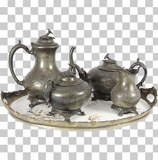 Ceramic Pottery Saucer Teapot 01504 PNG