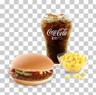 Cheeseburger Hamburger Filet-O-Fish Fizzy Drinks Chicken Salad PNG