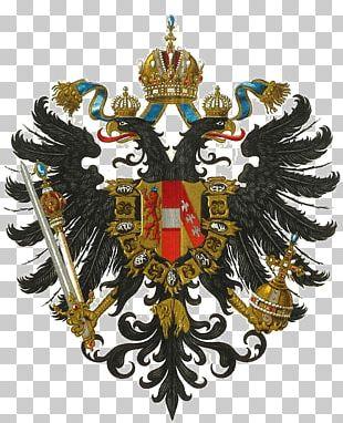 Austria-Hungary Austrian Empire Coat Of Arms Crest PNG
