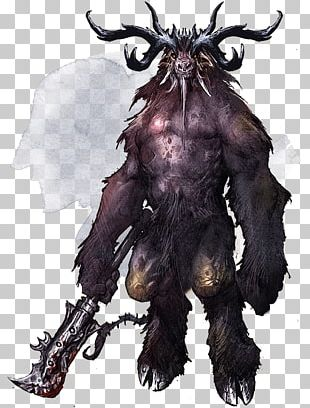 Dungeons & Dragons Demon Lord Abyss Baphomet PNG