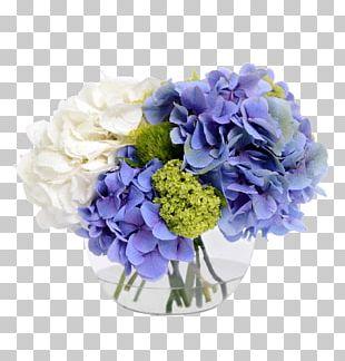 Hydrangea Flower Bouquet Floral Design Cut Flowers PNG