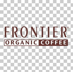 Frontier Organic Coffee Logo Brand Font PNG