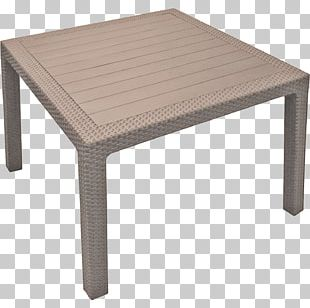 Table Plastic Ratan Garden Furniture PNG