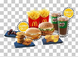 Fast Food Breakfast Junk Food Cheeseburger Hamburger PNG