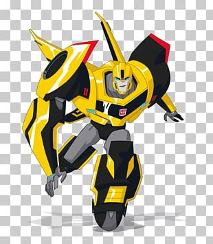 Sideswipe Bumblebee Optimus Prime Transformers Discovery Family PNG