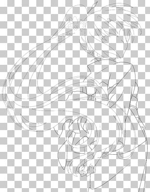 Drawing Monochrome Line Art Sketch PNG