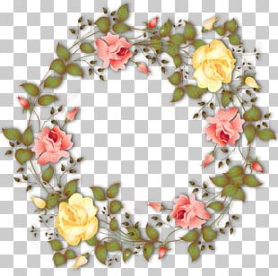Flower Wreath Garland PNG