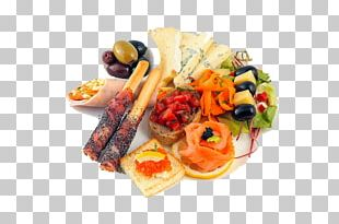 Hors D'oeuvre Vegetarian Cuisine Menu Canapé Full Breakfast PNG
