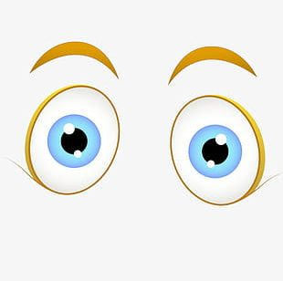 Cartoon Characters With Big Eyes PNG