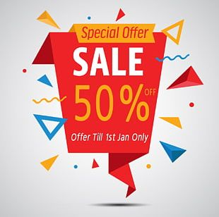 Discounts And Allowances Sales Advertising Flyer PNG