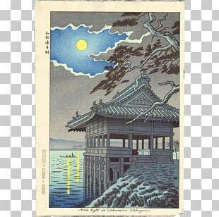 Japanese Art Ukiyo-e Painting PNG