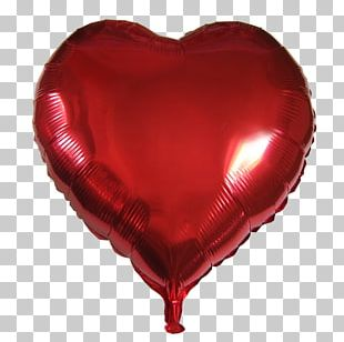 Balloon Heart Bag Valentine's Day Gift PNG