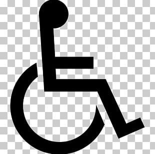 International Symbol Of Access Disability Disabled Parking Permit Wheelchair Sign PNG