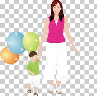 Mother Son Daughter Family Child PNG