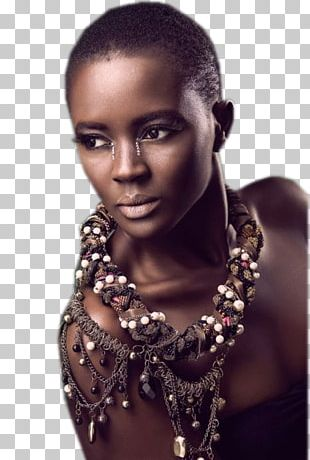 Beauty Ghana Model Woman Sustainable Fashion PNG