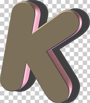 Letter Text Alphabet K PNG