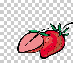 Strawberry Fruit Auglis PNG