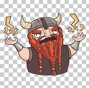 Telegram Sticker Viking Advertising PNG