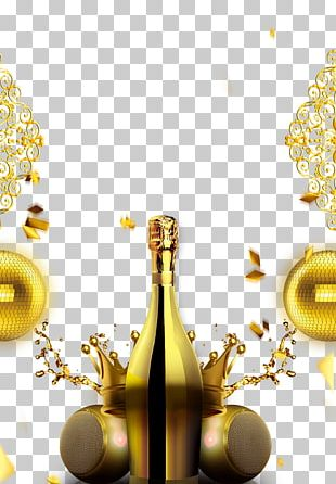 Champagne Gold PNG